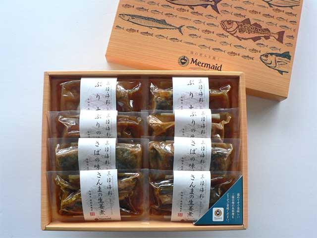 【こだわりの逸品!】 三陸海彩 和風煮魚詰合せ
