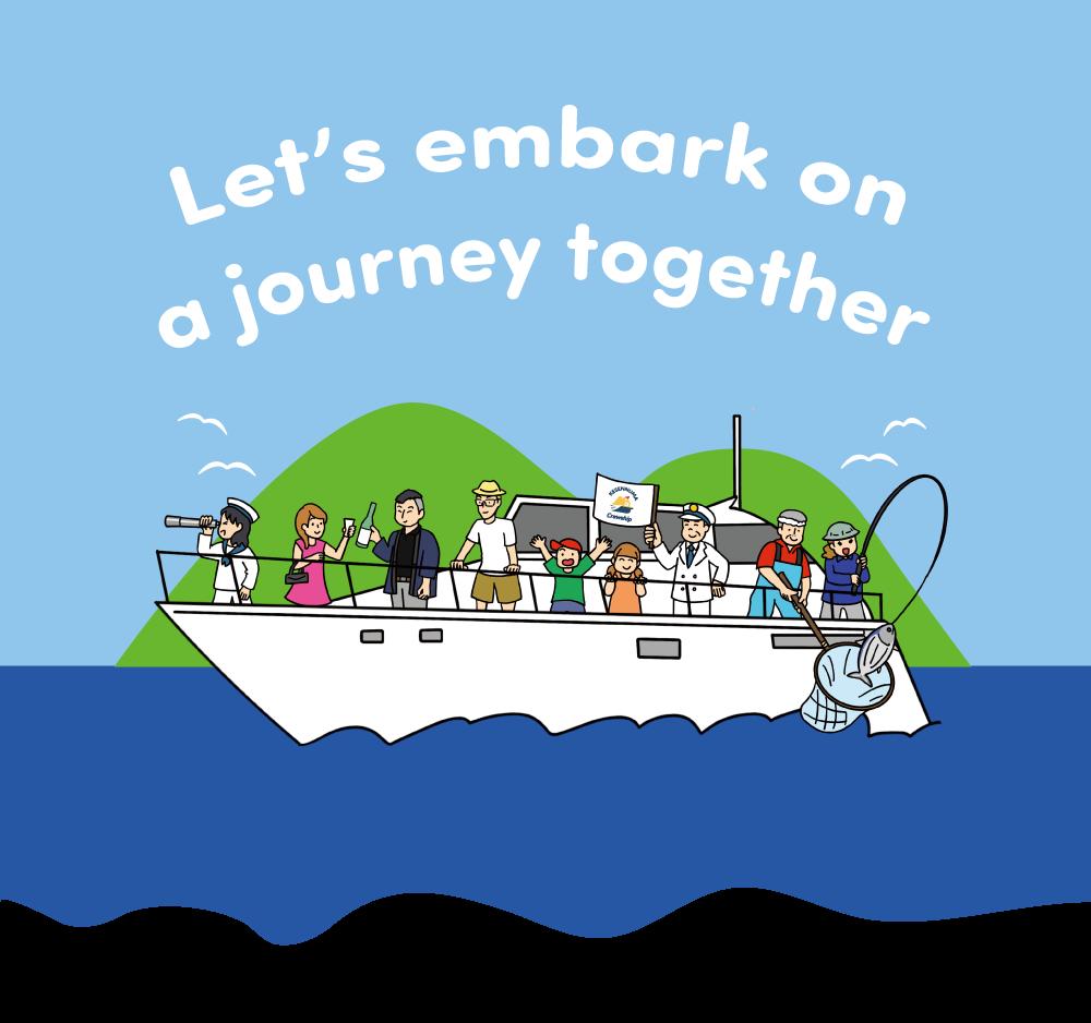 Lets embark on a journey together